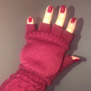 Merona fingerless mittens
